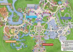 Disney world map from pinterest 10