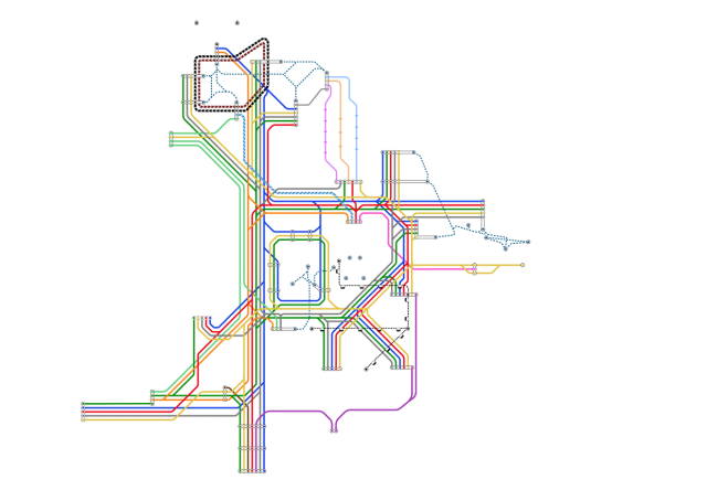 Disney world monorail map from magicguides 1