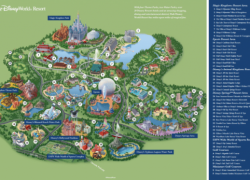 Disney World Resort Map 2020: Disney world resort map 2020 from magicguides 1