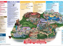 Disneyland California Adventure Map: Disneyland california adventure map from dreamsunlimitedtravel 1