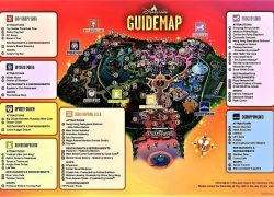 Disneyland hong kong map from apkpure 7