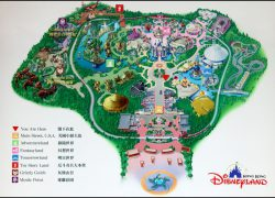 Disneyland hong kong map from pinterest 2