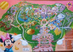 Disneyland hong kong map from pinterest 6