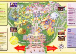 Disneyland hong kong map from themeparkreview 9