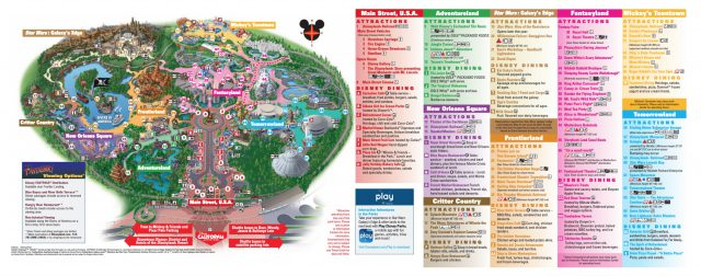 Disneyland map 2020 from dreamsunlimitedtravel 1