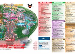 Disneyland Map: Disneyland map from dreamsunlimitedtravel 1