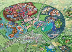 Disneyland Paris Park Map: Disneyland paris park map from disneyholidays 1
