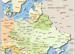 Eastern Europe Map: Eastern europe map from nationsonline 1