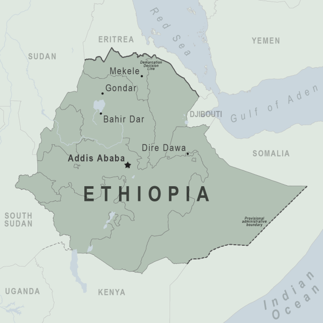 Ethiopia map from wwwnc 1