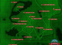 Fallout 4 Map: Fallout 4 map from guides 2