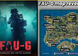 Faug Game Map: Faug game map from youtube 1