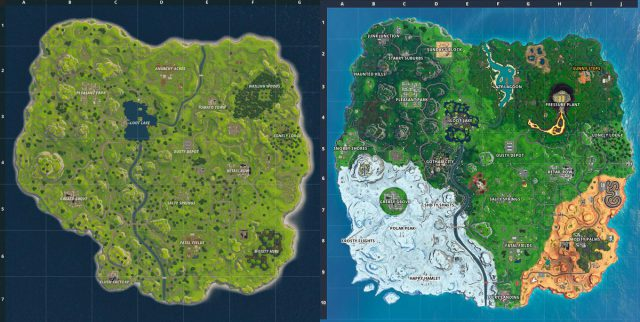 Fortnite Map