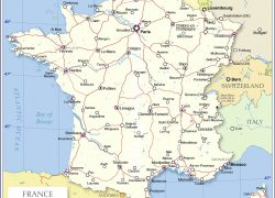 France political map from nationsonline 2