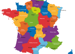 France political map from pinterest 3