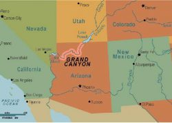 Grand canyon on us map from pinterest 5