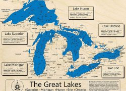 Great lakes map from amazon 4