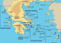 Greek islands map from br 10