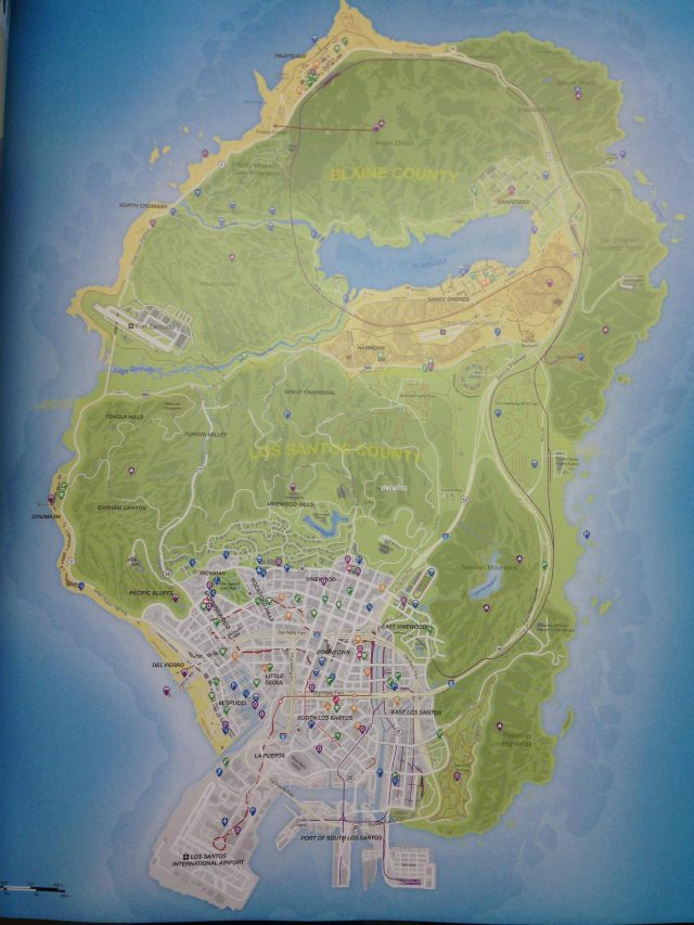 Gta 5 map from metro 1
