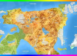 Gta 6 Map: Gta 6 map from youtube 1