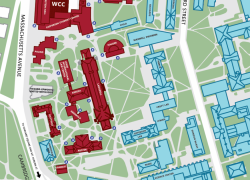 Harvard campus map from hls 5