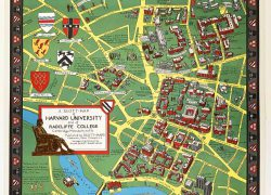 Harvard university map from abebooks 8