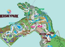 Hershey Park Map 2020: Hershey park map 2020 from hersheypark 1