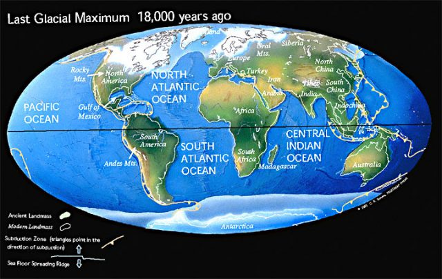Ice Age Map
