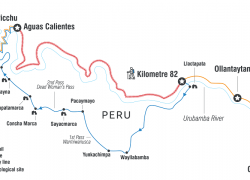 Inca trail map from intrepidtravel 8
