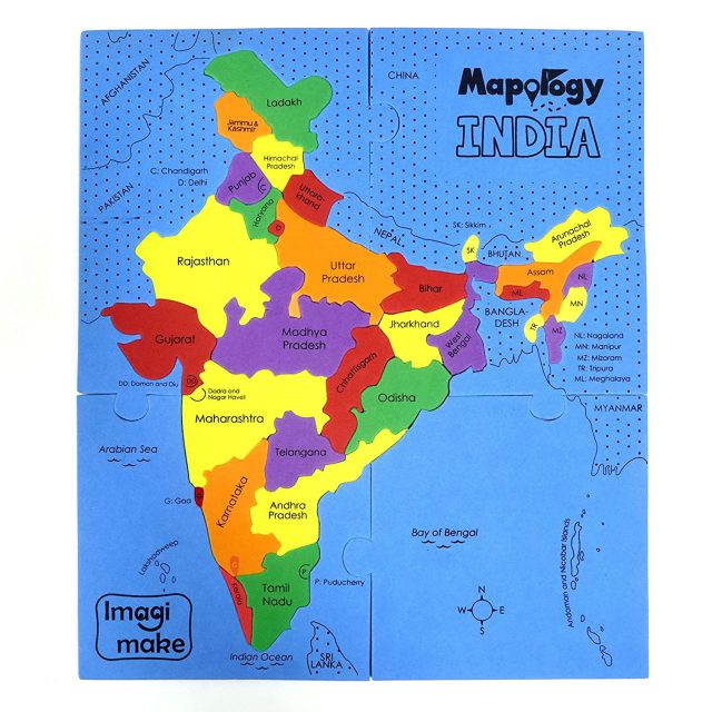 India Map With States