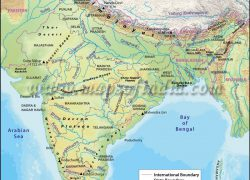 India physical map from pinterest 6