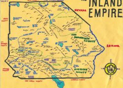 Inland Empire Map: Inland empire map from pinterest 1