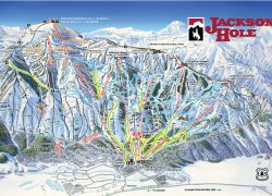 Jackson Hole Trail Map: Jackson hole trail map from jacksonhole 1