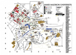 Jmu campus map from mappery 10