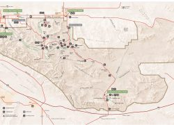 Joshua tree national park map from commons 6