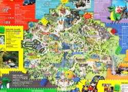 Legoland california map from themeparkreview 4