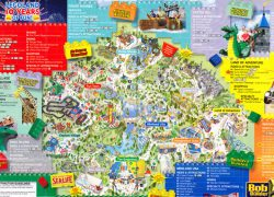 Legoland california map from themeparkreview 9