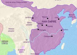 Map of ancient china from pinterest 7
