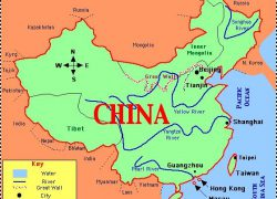 Map of ancient china from pinterest 9