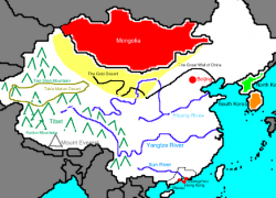 Map of ancient china from thinglink 2