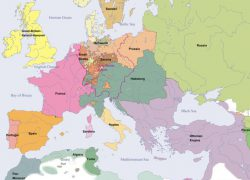 Map Of Europe 1800: Map of europe 1800 from euratlas 1