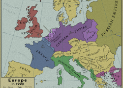 Map of europe 1920 from pinterest 4