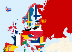 Map of europe 1920 from reddit 2