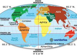 Map of the world with equator from pinterest 5