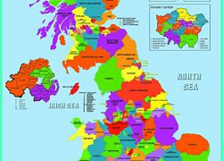 Map of uk counties from amazon 5