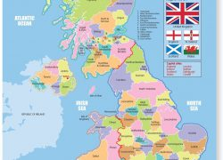Map of uk counties from amazon 7