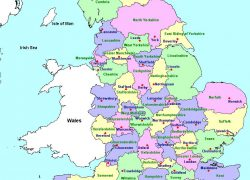 Map of uk counties from pinterest 10