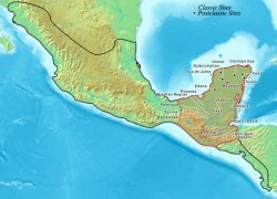 Mayan empire map from khanacademy 9