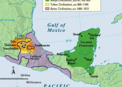 Mayan empire map from the maya 4
