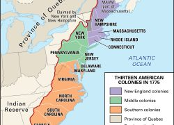 New england colony map from socratic 8