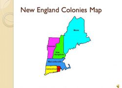 New england colony map from tes 5